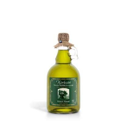 Körfezim Erken Hasat Soğuk Sıkım Zeytinyağı - 500 ml (Kulplu Galon Cam Şişe)
